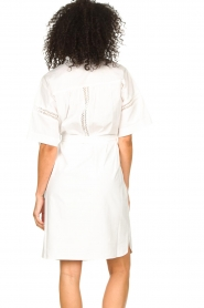Set |  Broderie dress with matching waistbelt Mia | white  | Picture 9