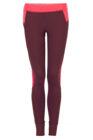 Casall | Legging Plum Night | paars
