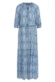 Set |  Maxi dress with tie dye print Lee | blue  | Picture 1