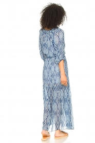 Set |  Maxi dress with tie dye print Lee | blue  | Picture 7