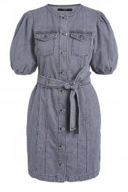 Set |  Denim dress Zola | grey  | Picture 1
