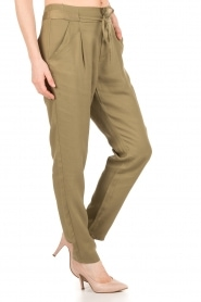 Aaiko |  Trousers Peppi | groen  | Picture 4