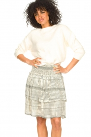 Set |  Knitted sweater Irene | natural  | Picture 4