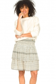 Set |  Knitted sweater Irene | natural  | Picture 2