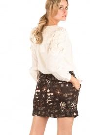 Antik Batik | Rok Chain | bruin  | Afbeelding 5