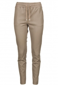 STUDIO AR BY ARMA | Leather pants Naomi | grey   | Picture 1