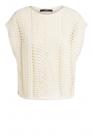 Set |  Knitted sleeveless sweater Iris | natural  | Picture 1