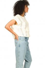 Set |  Knitted sleeveless sweater Iris | natural  | Picture 6