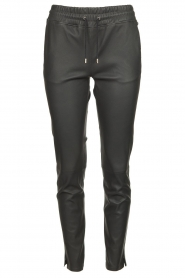 STUDIO AR BY ARMA | Leather pants Naomi | black  | Picture 1
