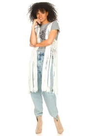 Set |  Sleeveless cardigan Minke | natural  | Picture 2