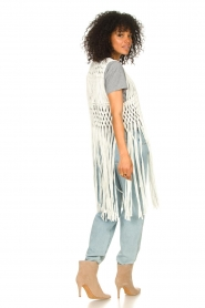 Set |  Sleeveless cardigan Minke | natural  | Picture 6