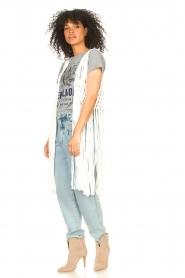 Set |  Sleeveless cardigan Minke | natural  | Picture 4