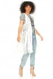 Set |  Sleeveless cardigan Minke | natural  | Picture 3