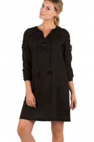 Tunic dress Sabba | black