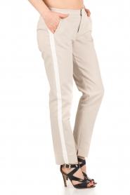 Aaiko | Pantalon Sarene | naturel  | Afbeelding 2