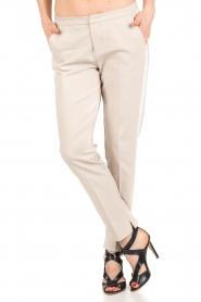 Aaiko | Pantalon Sarene | naturel  | Afbeelding 4