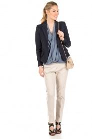 Aaiko | Pantalon Sarene | naturel  | Afbeelding 3