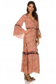 Hipanema |  Floral maxi dress Bonheur | pink  | Picture 5