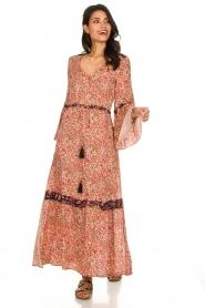 Hipanema |  Floral maxi dress Bonheur | pink  | Picture 2