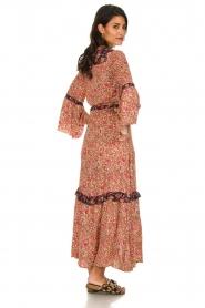Hipanema |  Floral maxi dress Bonheur | pink  | Picture 6