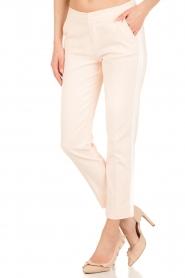 Aaiko | Pantalon Sarene | lichtroze  | Afbeelding 2