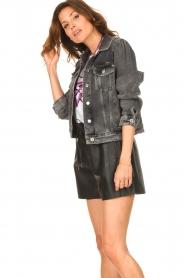Set |  Denim jacket Flo | grey  | Picture 7