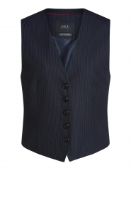 Set |  Striped waistcoast Sofie | blue  | Picture 1