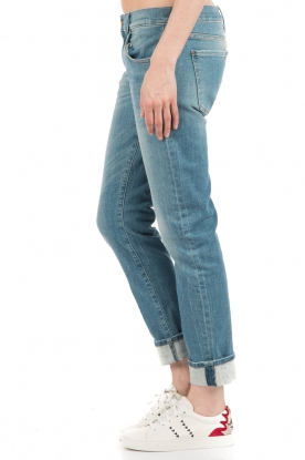 7 For All Mankind | Jeans Relaxed Skinny | blauw  | Afbeelding 4
