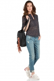 7 For All Mankind | Jeans Relaxed Skinny | blauw  | Afbeelding 3