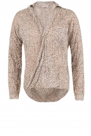 Aaiko | Omslag blouse Cicila | print  | Afbeelding 1