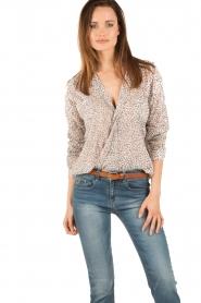 Aaiko | Omslag blouse Cicila | print  | Afbeelding 2
