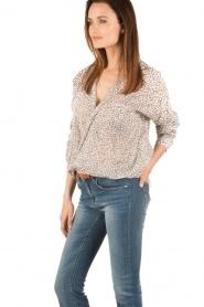 Aaiko | Omslag blouse Cicila | print  | Afbeelding 3
