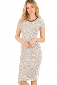 Aaiko   T-shirt jurk Harbour   print    Afbeelding 2