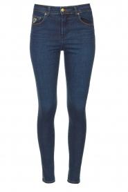 Lois Jeans |  Skinny jeans L34 Celia | dark blue  | Picture 1