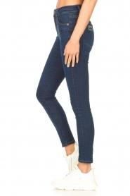 Lois Jeans |  Skinny jeans L34 Celia | dark blue  | Picture 4