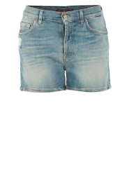 7 For All Mankind | Denim short Nashville | blauw  | Afbeelding 1