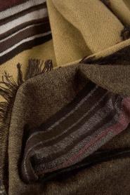 Antik Batik | Sjaal Marlon | groen  | Afbeelding 3