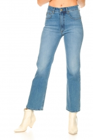 Lois Jeans |  Straight fit jeans River | blue   | Picture 4