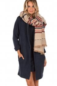Antik Batik | Sjaal Cola | beige  | Afbeelding 2