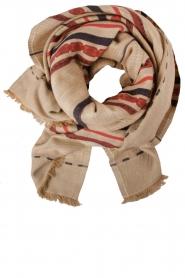 Antik Batik | Sjaal Cola | beige  | Afbeelding 1