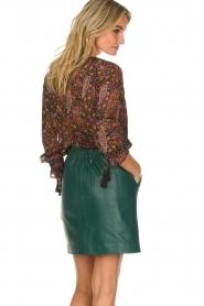 Hipanema |  Floral blouse Jerico | black  | Picture 5