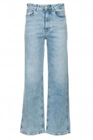 Lois Jeans |  Wide leg stretch jeans Rachel | blue  | Picture 1