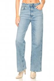 Lois Jeans |  Wide leg stretch jeans Rachel | blue  | Picture 5