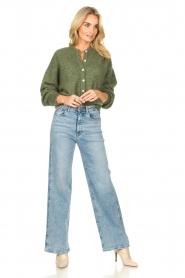 Lois Jeans |  Wide leg stretch jeans Rachel | blue  | Picture 2