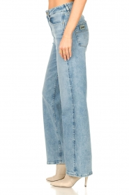 Lois Jeans |  Wide leg stretch jeans Rachel | blue  | Picture 6