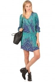 Printed wrap dress Picardie | multi