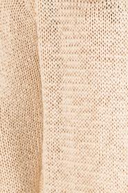 Aaiko | Gehaakt vest Tiziana | beige  | Afbeelding 6