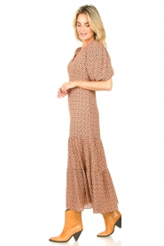 Second Female |  Floral maxi dress Sandra | black  | Picture 4