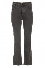Lois Jeans | High waist straight leg ankle jeans River | zwart  | Afbeelding 1