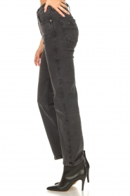 Lois Jeans | High waist straight leg ankle jeans River | zwart  | Afbeelding 6